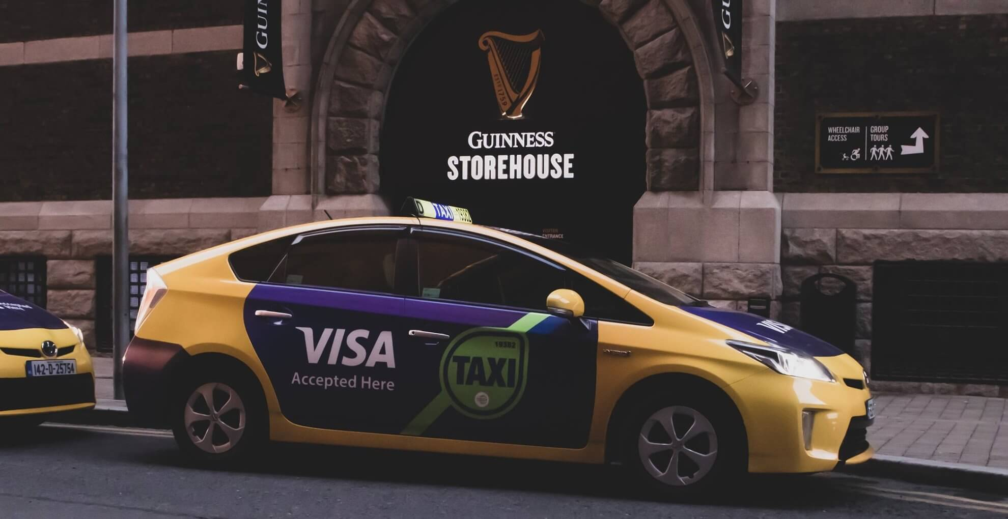 guinness storehouse taxi ads
