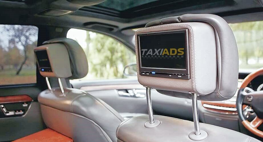 taxi ads media players