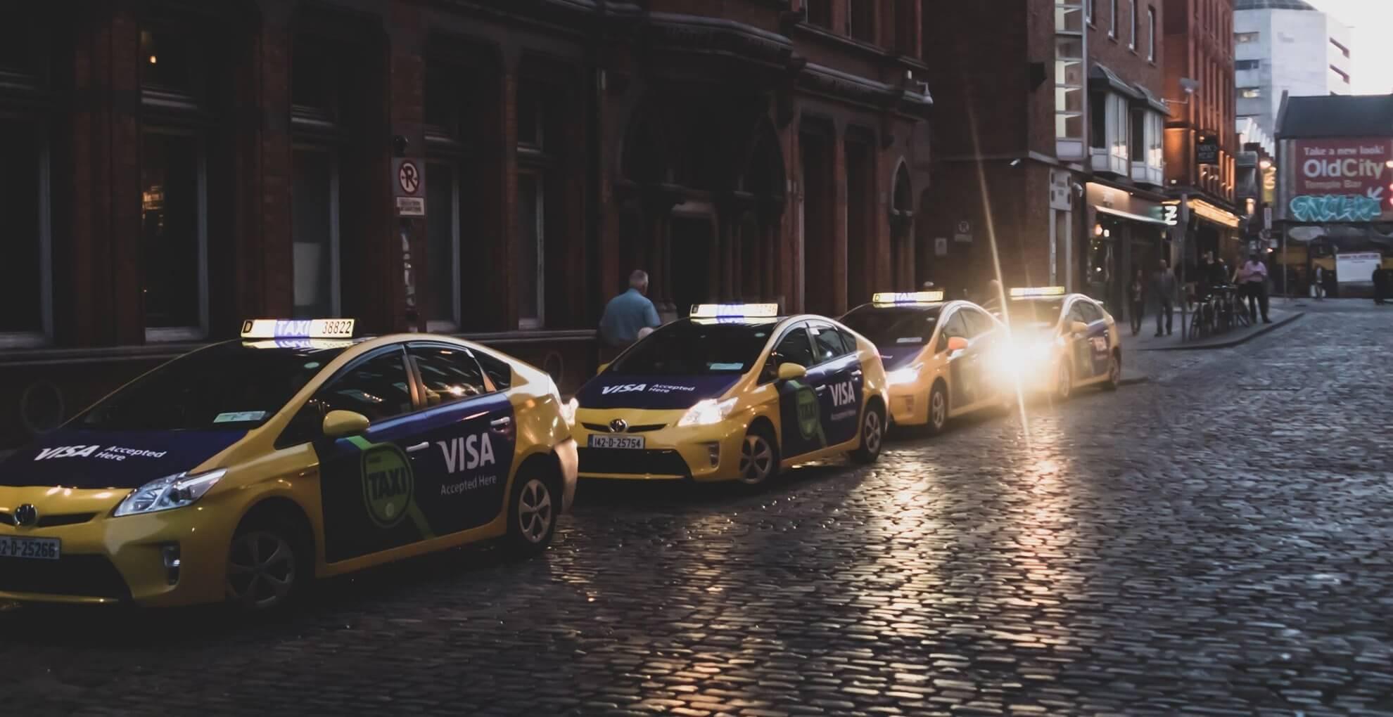 taxi ads temple bar