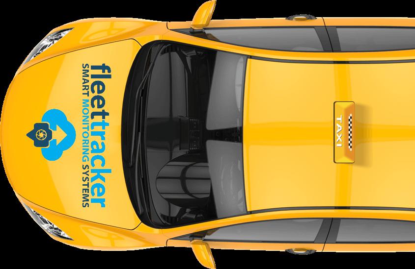 taxi advert fleet tracker