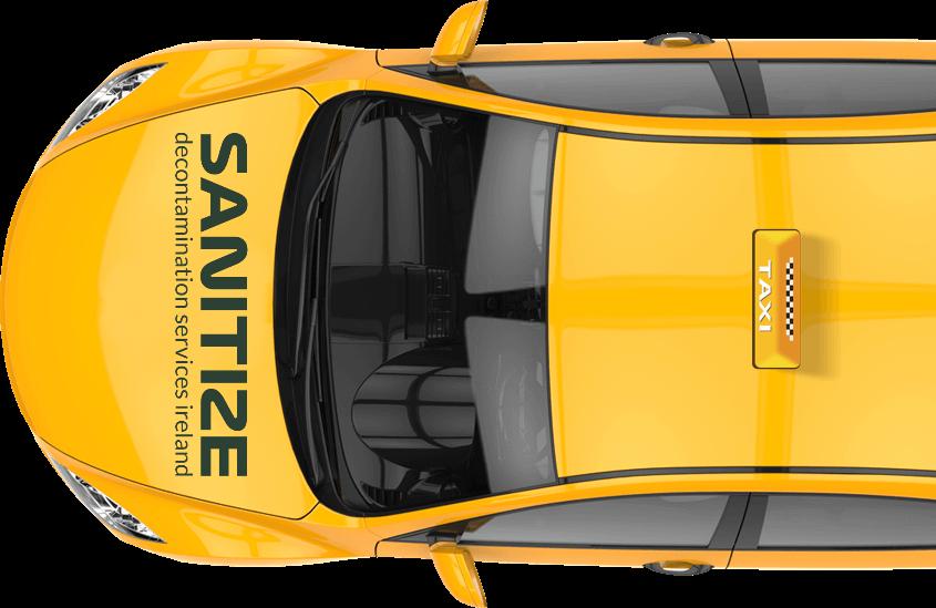 taxi advert sanitize